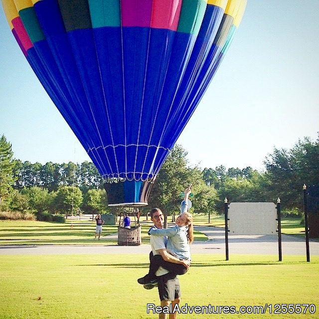 A Hot Air Balloon Ride in St Augustine, FL