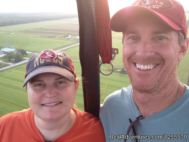 Anniversary Celebrations - Hot Air Balloon Rides in St Augustine, FL