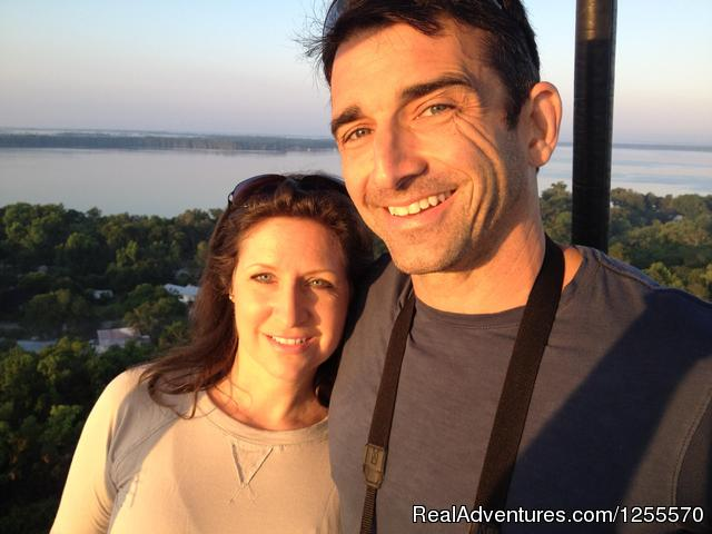 Romance in the air  Adventure in the skies - A Hot Air Balloon Ride in St Augustine, FL