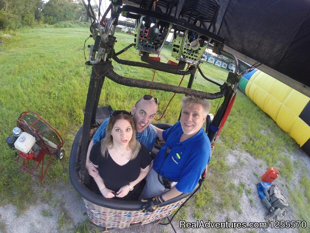 A Hot Air Balloon Ride In St Augustine Fl St Augustine