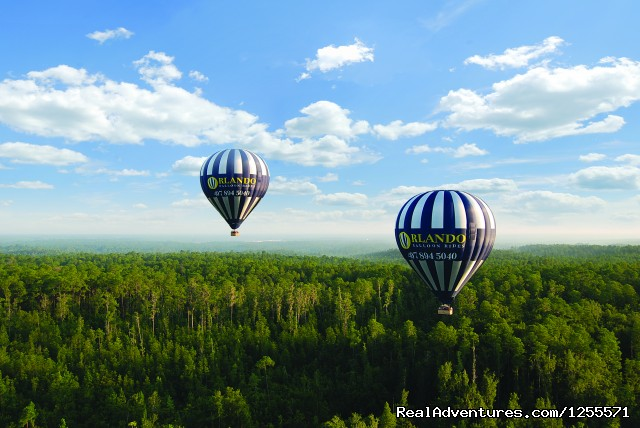 Image #1 of 6 - Orlando Balloon Rides