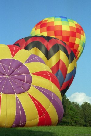 Magic Carpet Ride Balloon Adventures Atlanta, Georgia Ballooning