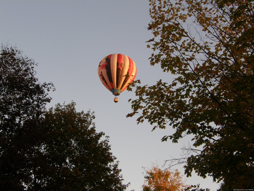 Hot air balloon rides in the smoky Mountain region of East Tennessee. Come see the Smokies from a whole new perspective!