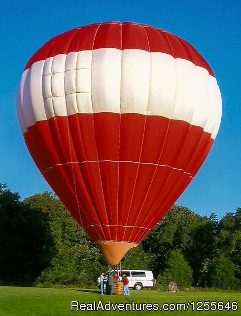 Branson Balloon: Big Red balloon