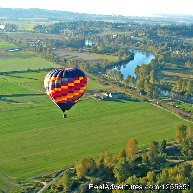 Hot Air Balloon Flights in Western Washington