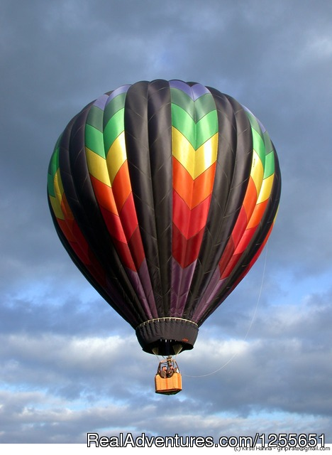 Chinook - Hot Air Balloon Flights in Western Washington