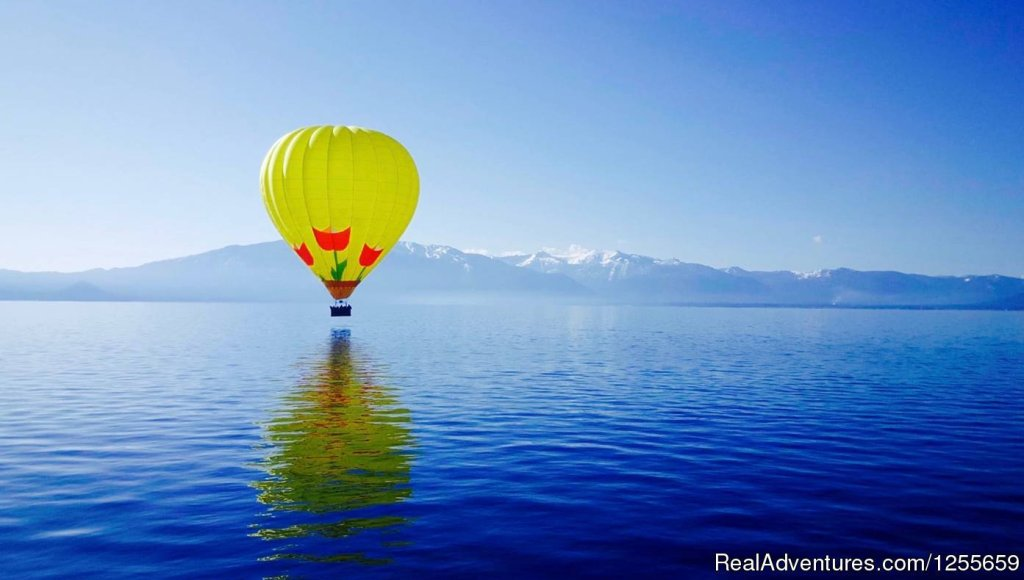 Come fly with us on the adventure of a lifetime over Lake Tahoe! We offer our sunrise flights May - October weather permitting. This bucket list experience is perfect for ANY occasion. Includes post-flight Champagne Toast.