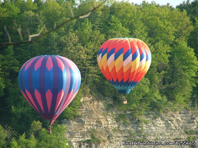 Flying in the Letchworth gorge. (#3 of 6) - Liberty Flights  Hot Air Balloon Flights in S. NH