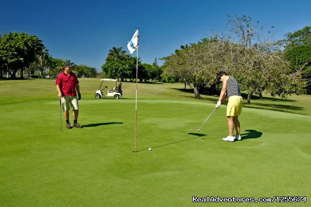 Golf Course (9 holes) - Tango Mar Beach Hotel Spa & Golf Resort Costa Rica
