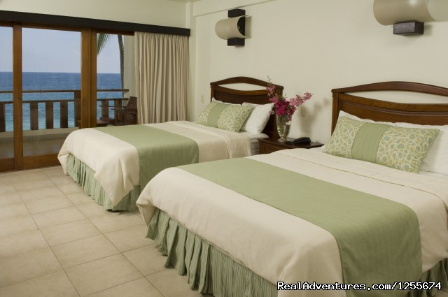 Beachfront Room / Two Queen Beds - Tango Mar Beach Hotel Spa & Golf Resort Costa Rica
