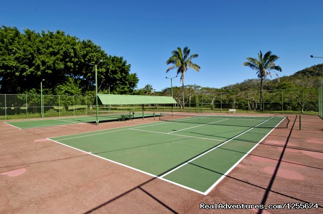 Tennis Courts - Tango Mar Beach Hotel Spa & Golf Resort Costa Rica