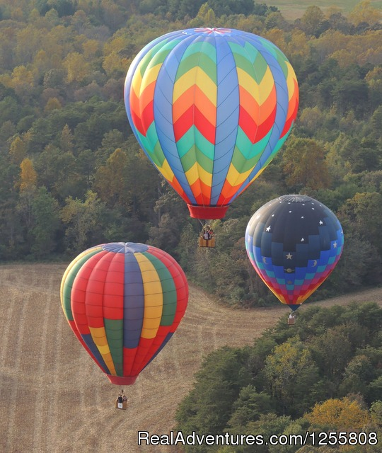 At the Carolina Balloon Fest - Yadkin Valley Balloon Adventures NC wine country