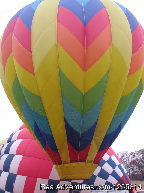 Launch (#1 of 7) - Big oh Balloons, Private Champagne Balloon Flights
