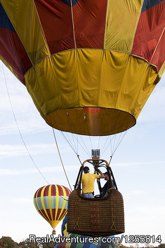BalloonFest, Statesville, NC - Big oh Balloons, Private Champagne Balloon Flights
