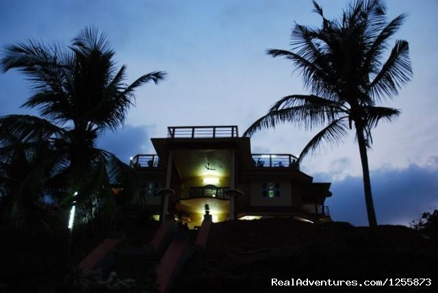 Night view of Uthradam Resort (#2 of 19) - Top luxury resort in Ezhimala, Kerala, India