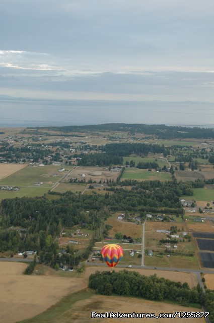 A view to the East - Morning Star Balloon Co.