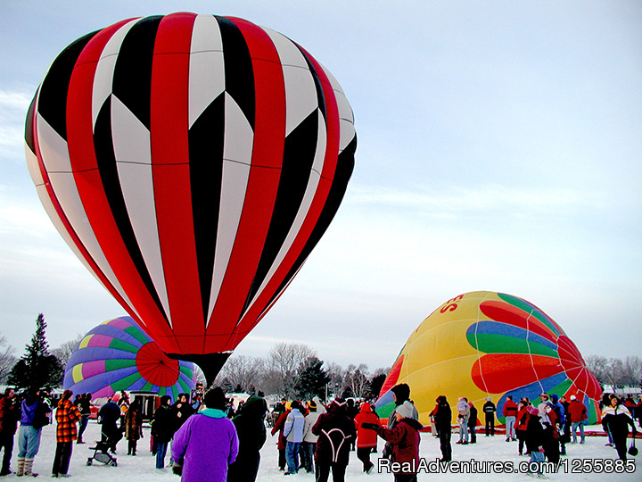 Hudson Hot Air Affair - Balloon Launch