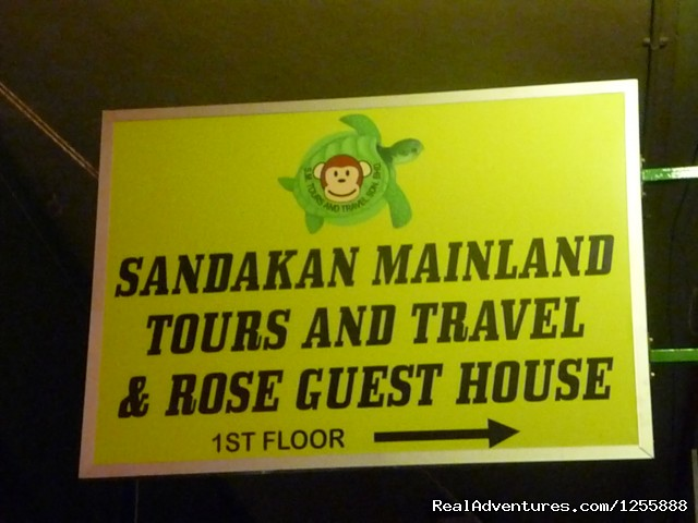 Entrance Sign board - Rose Guesthouse