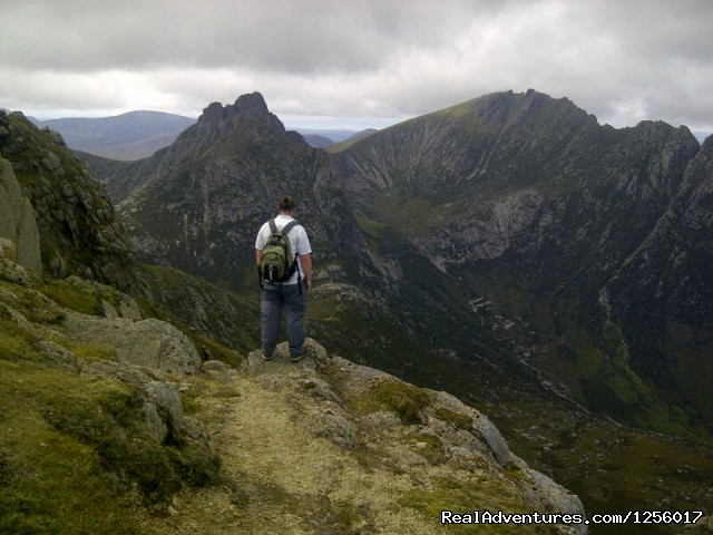 Cir Mhor from North Goatfell (#2 of 3) - Awesome Arran Weekend