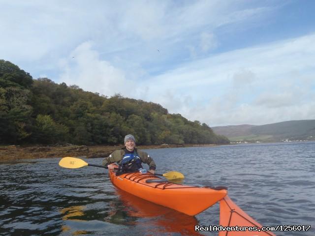 Sea kayaking on Arran (#3 of 3) - Awesome Arran Weekend