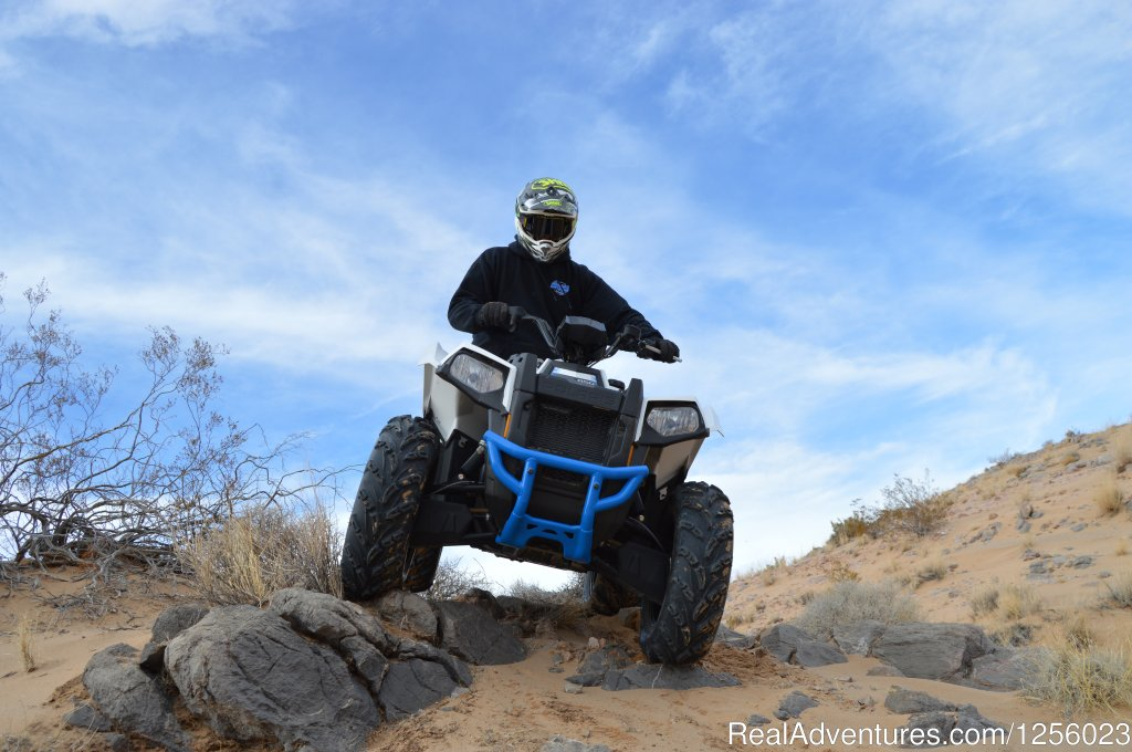 Las Vegas's premier off road tour company! We provide an epic off road RZR (UTV), ATV and Dirt Bike adventure,You will ride in the pristine Mojave desert 30 min. south of  Las Vegas. Customize your tour to meet the diverse riding abilities & request.