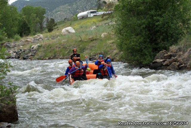 Mile Hi Rafting Dumont, Colorado Rafting Trips