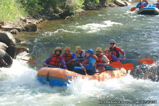 Clear Creek beginner 'Sure Shot' - Mile Hi Rafting