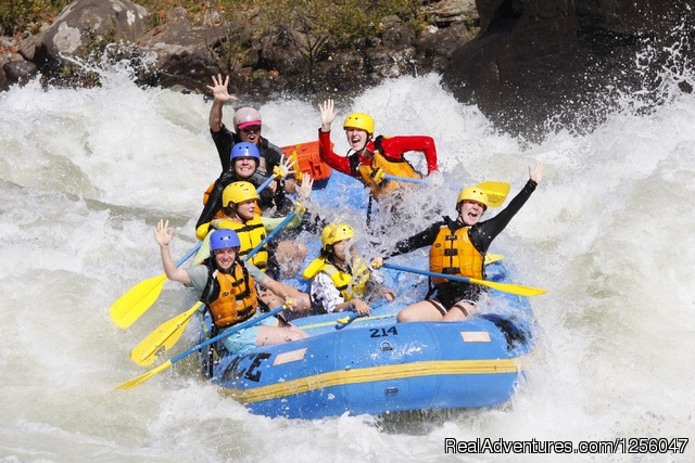 White Water Rafting Trips - ACE Adventure Resort