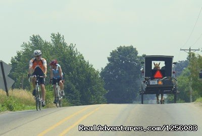 Amishland and Lakes, based in Lagrange, IN is a two-day bike tour of Amish countryside and Michigan lakes taking place July 27-28, 2019.