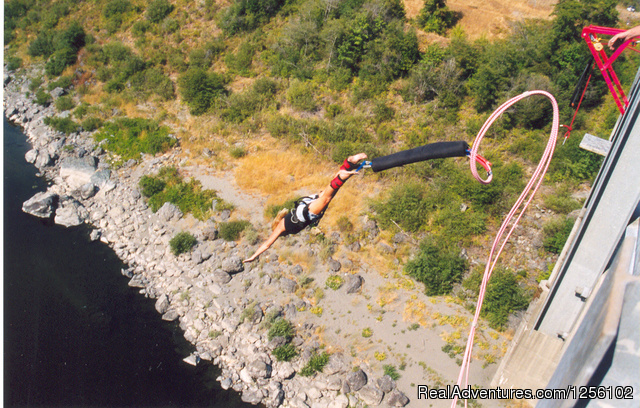Bungee Experience Bungee Jumping California