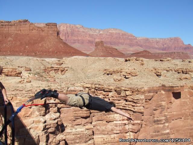 Navajo bridge 470ft. (#3 of 17) - Bungee Expeditions