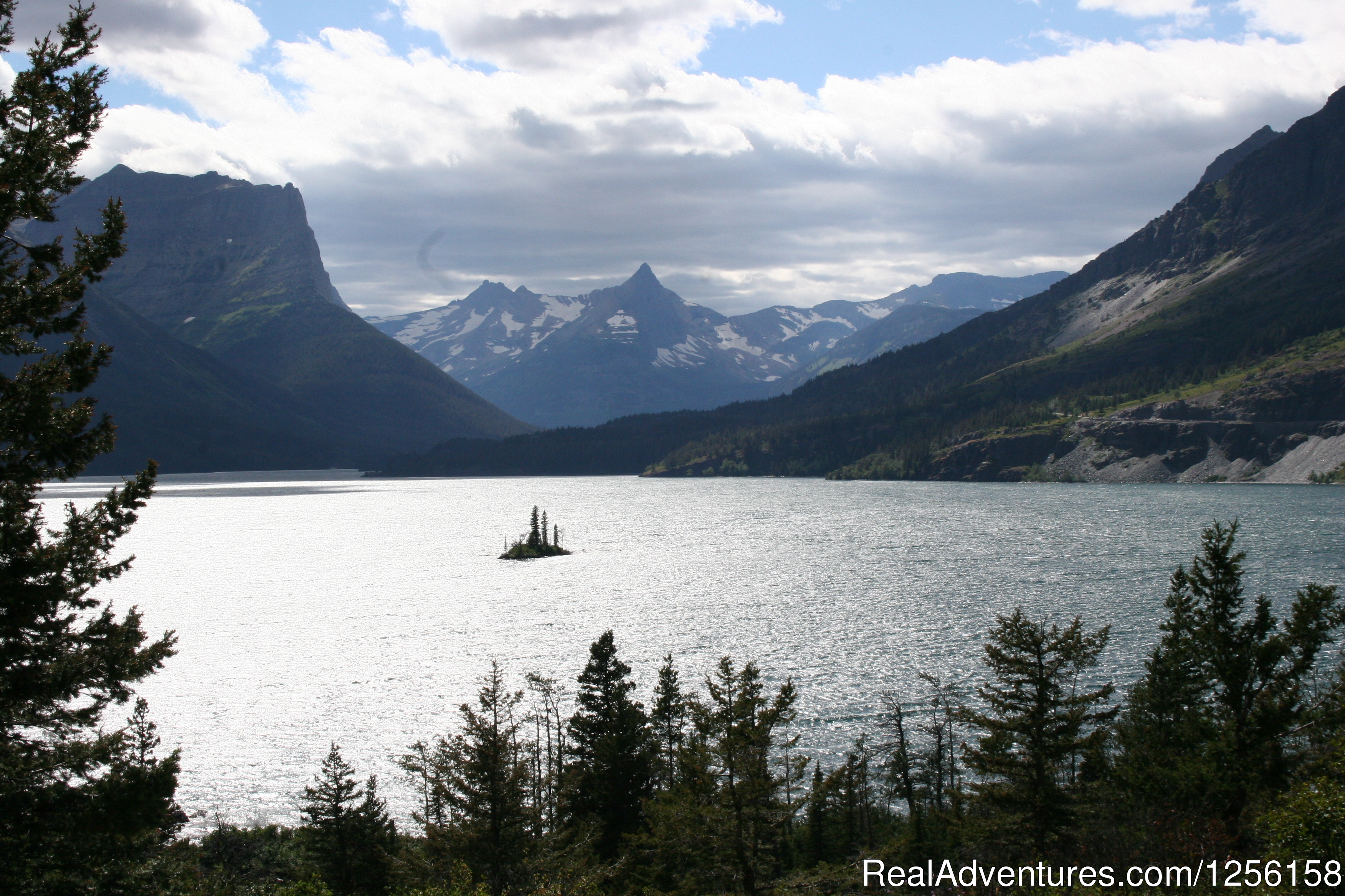 Glacier National Park is just 23 miles from the ranch