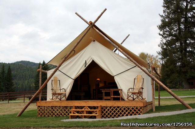 Glamping - Bar W Guest Ranch