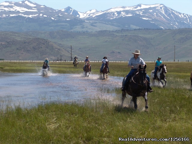 Hunewill Circle H Guest Ranch: Exhilarating summer splash ride