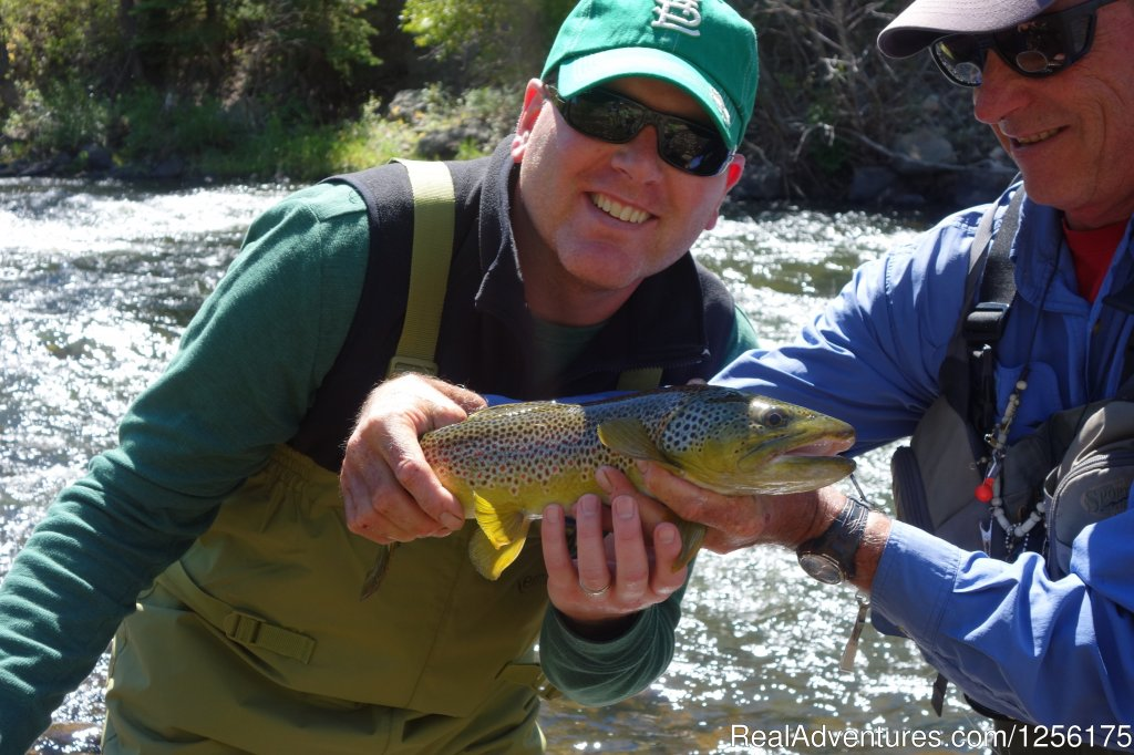 Fly Fishing private Gold Medal waters | Image #1/19 | Parachute, Colorado  | Dude Ranch | Bar Lazy J Guest Ranch