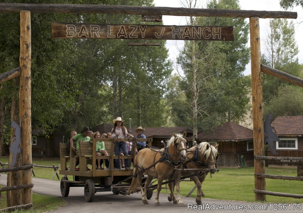 Wagon Ride | Image #10/19 | Bar Lazy J Guest Ranch