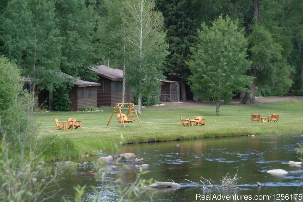 Cabins along the river | Image #17/19 | Bar Lazy J Guest Ranch