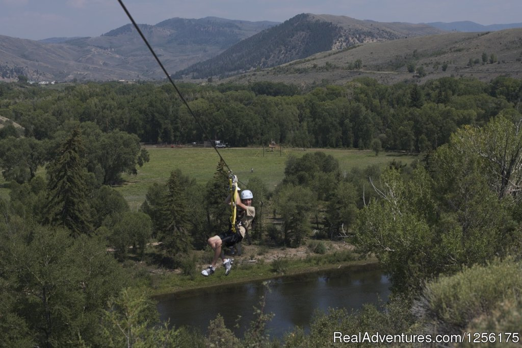 Colorado River Zip-line | Image #3/19 | Bar Lazy J Guest Ranch