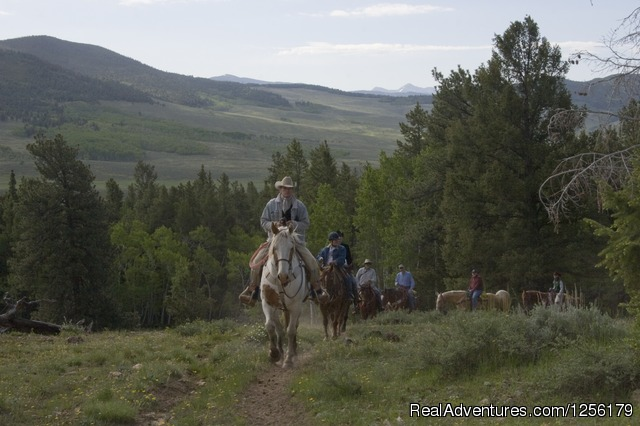 Breakfast ride - Waunita Hot Springs Ranch