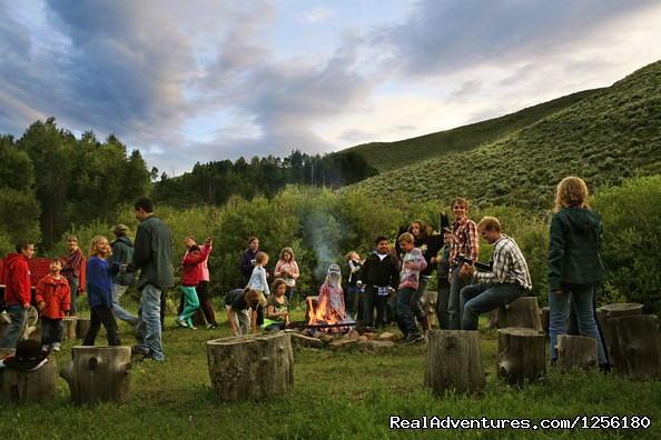 Drowsy Water Ranch Kids Campfire and hayride - Drowsy Water Ranch