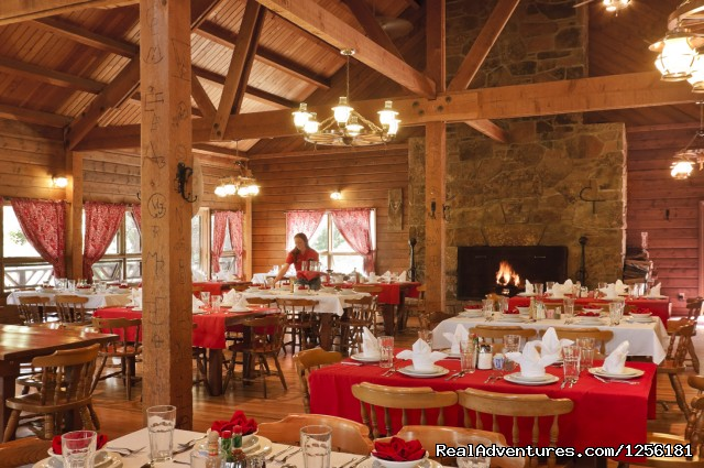 CTR's dining room....where you have the best meals - Colorado Trails Ranch, Colorado's Friendliest