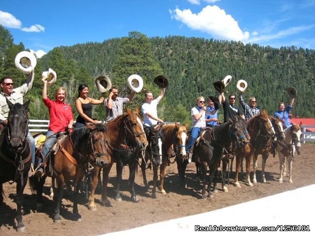 An extended family gets together at Colorado Trails (#10 of 15) - Colorado Trails Ranch, Colorado's Friendliest