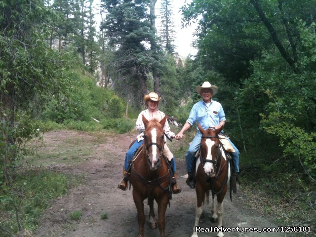 Grandma and Grandpa have a peaceful ride (#11 of 15) - Colorado Trails Ranch, Colorado's Friendliest