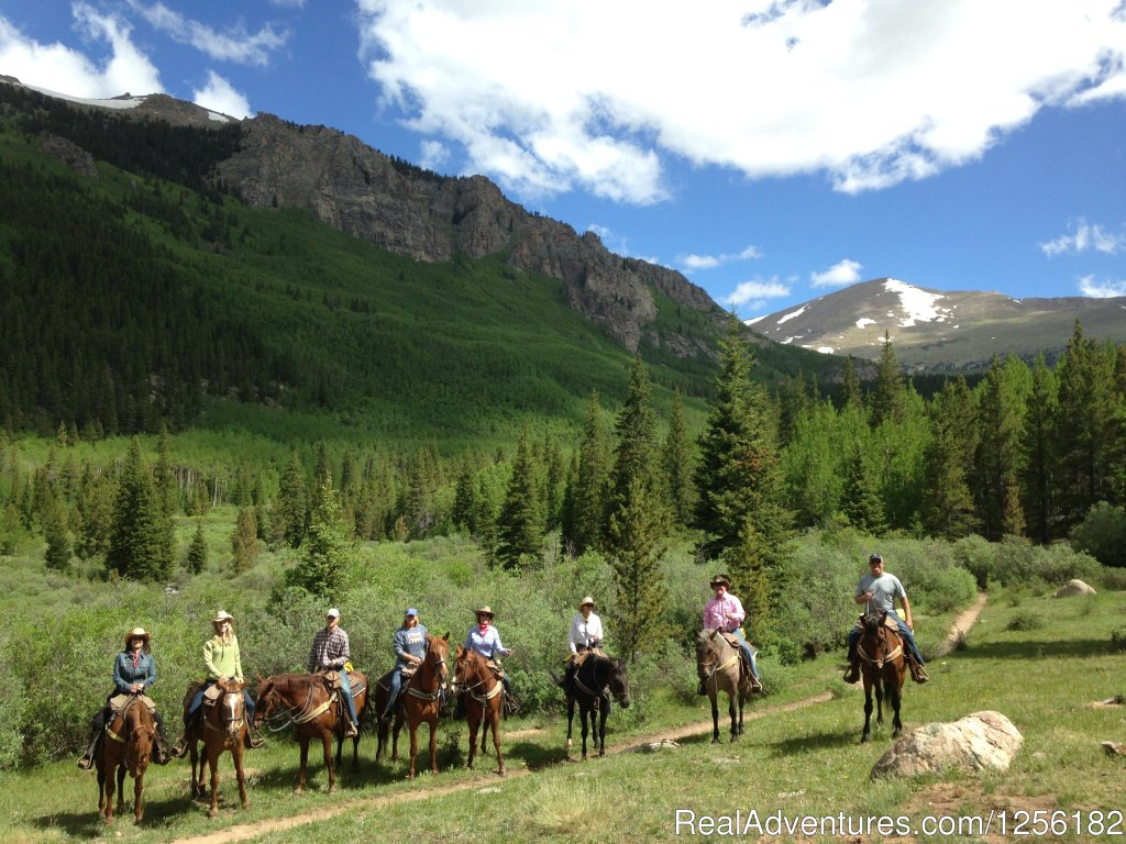 Tumbling River Ranch is a truly special place for parents and Grandparents to enjoy a one of a kind family vacation.  In fact, TRR specializes in multi-generational travel paired with the highest level of service, hospitality and comfort. Come see us