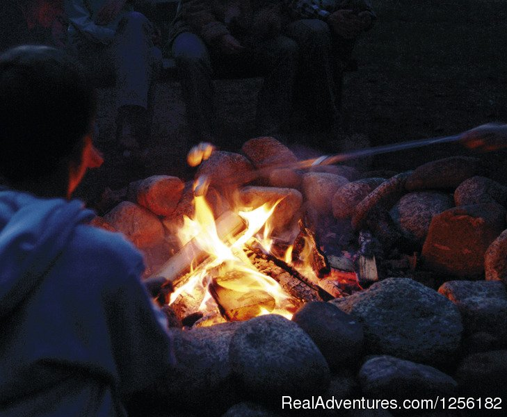 Tumbling River campfire | Image #2/7 | Tumbling River Ranch