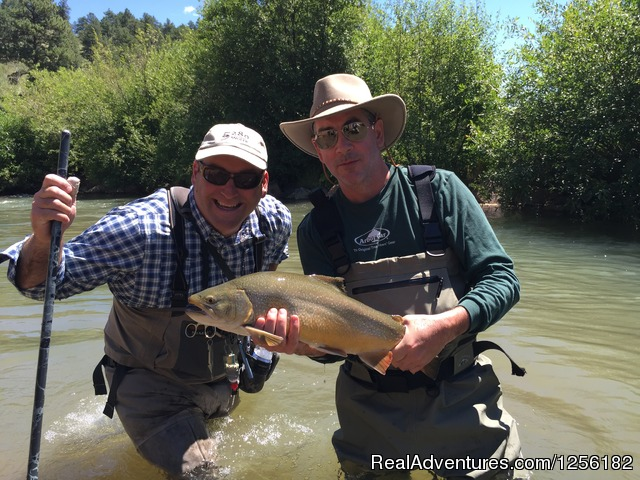 Award winning fishing - Tumbling River Ranch