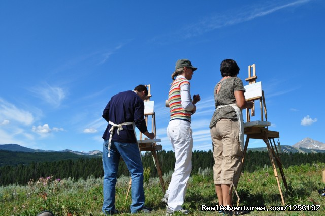 Activities include Oil Painting too - Lone Mountain Ranch