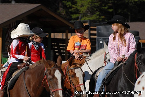 Kids Programs - Nine Quarter Circle Ranch - Montana Adventure