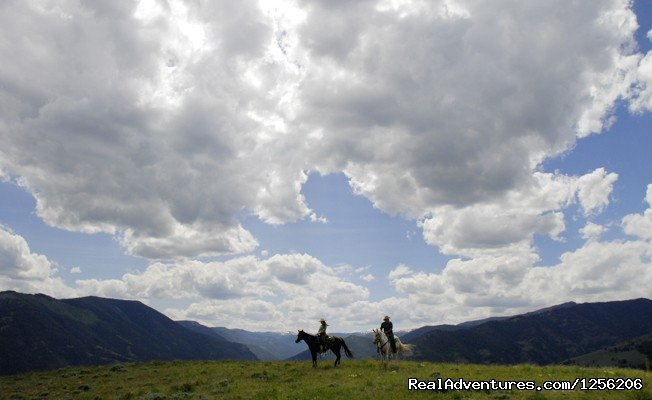 Top of the World, a spectacular destination at Mountain Sky. | Image #1/5 | Emigrant, Montana  | Dude Ranch | Mountain Sky Guest Ranch