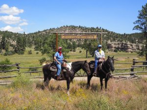 Geronimo Trail Guest Ranch Winston, New Mexico Dude Ranch